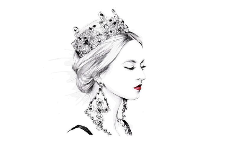 你们都爱公主,但我却默默做着女王