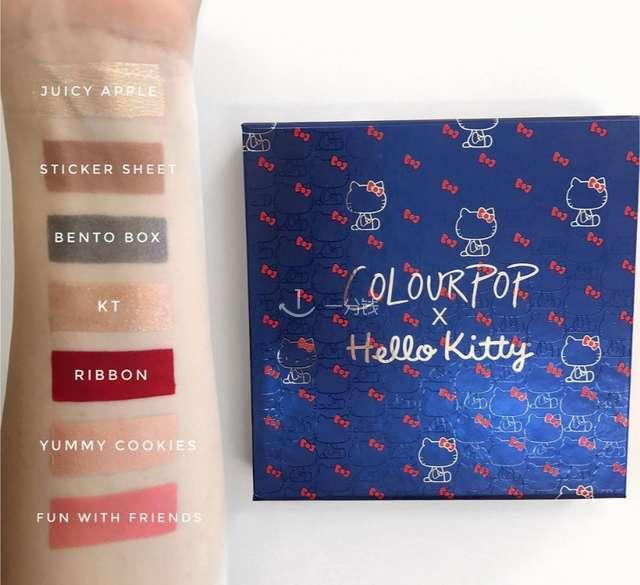 ColourPop & HelloKitty Hello Pretty