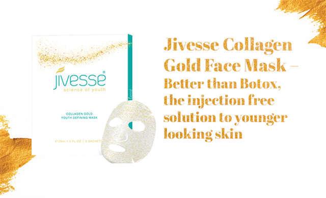 Jivesse Gold Collagen Mask 黄金胶原面膜