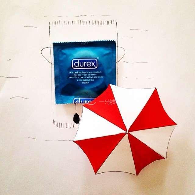 Durex,安全避孕,Durex40,fun explosion,草莓味避孕套