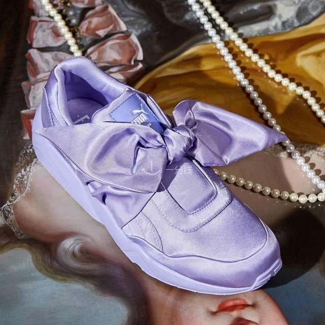 蝴蝶结混搭 绸缎帆布鞋