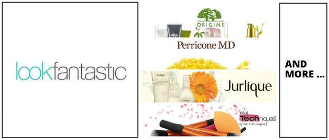Lookfantastic LF Origins Perricone MD Jurlique Techinique