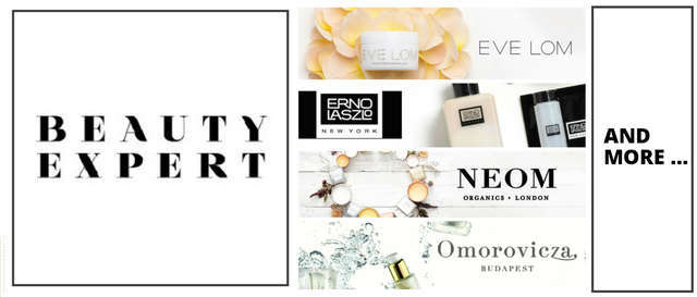 Beauty Expert BE Eve Lom  Erno laszo  noem Omoroviza