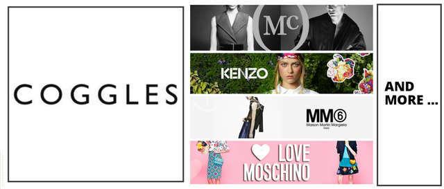 COGGLES McQ Kenzo MM Love Moschino