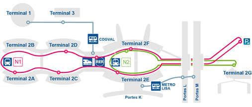 alt:N2摆渡巴士线路图