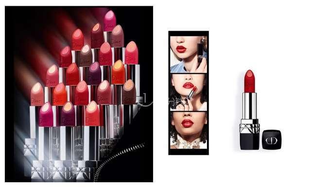 Dior Double Rouge 夹心系列 Metal元素 金属元素