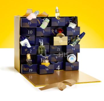 欧舒丹 occitane 2017 圣诞日历礼盒