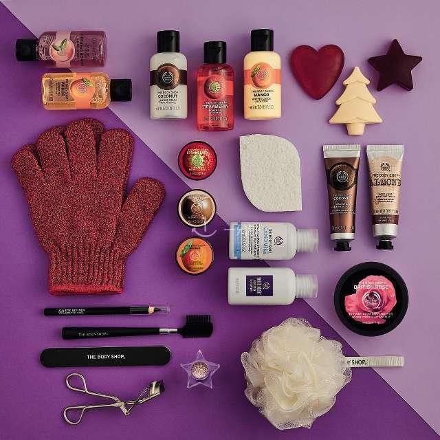 The Body Shop 2017 圣诞日历礼盒