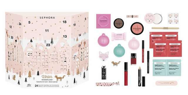Sephora 2017 圣诞日历礼盒