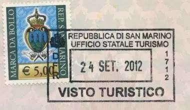 alt:圣马力诺旅游纪念签证