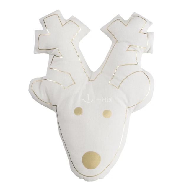 驯鹿靠垫,麋鹿,Coussin,HEMA,圣诞装饰