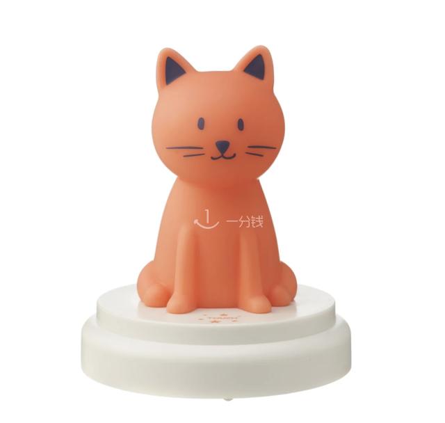 小猫小夜灯,veilleuse chat LED,HEMA,床头灯