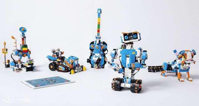 圣诞创意趣味礼物LEGO BOOST最新编程机器人