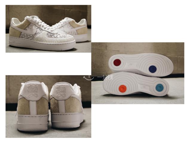 Nike 耐克 Air Force 狗年 限量 运动鞋