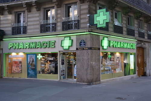 急救药品 法国