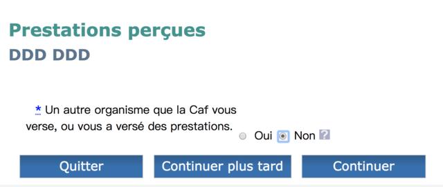 法国房补 CAF